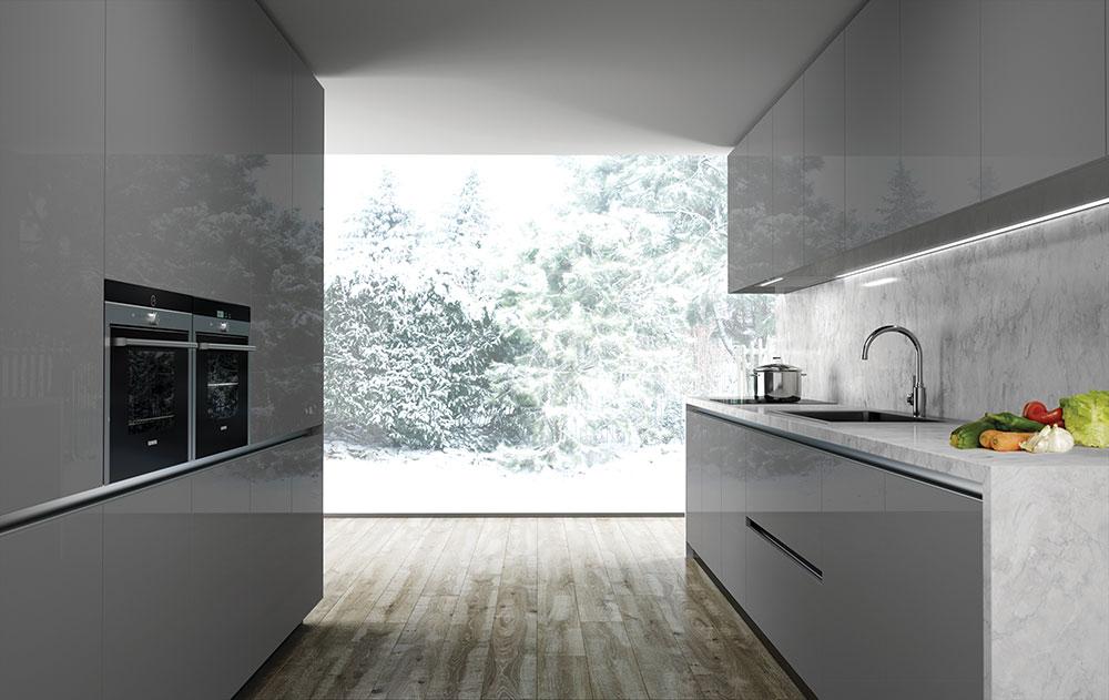 Render 3d de muebles de cocina de dise o estudibasic - Cocinas de diseno en sevilla ...