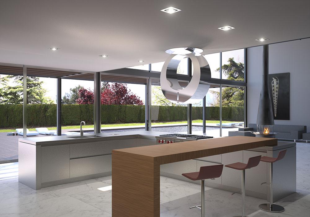 Dise o de interiores 3d y decoraci n de ambientes for Diseno 3d cocinas online