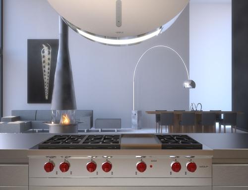 Diseño de interiores 3D y decoración de ambientes