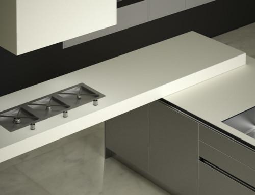 Imágenes 3D de interiores para encimeras de cocina