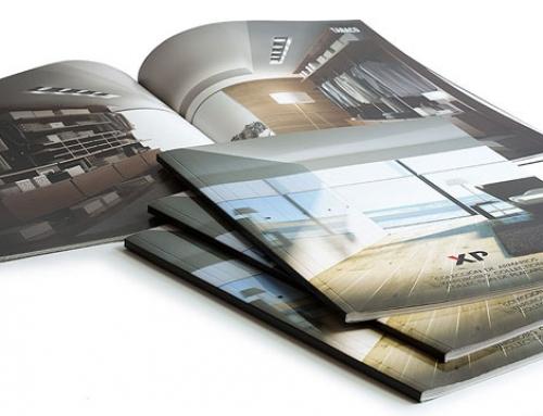 Diseño e impresión de catálogos de armarios