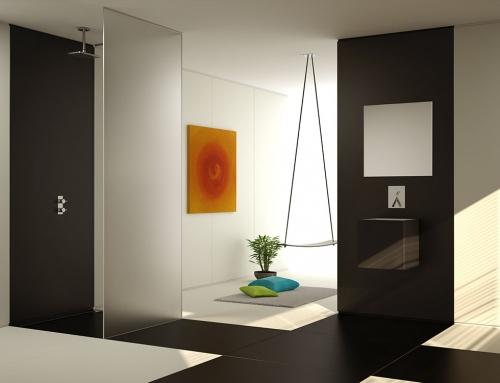 Infografía 3D de ambientes de baño
