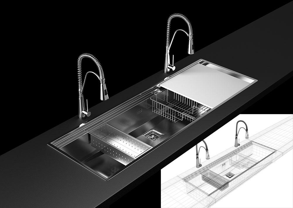 Modelado y Renderizado de producto 3D para diseño industrial