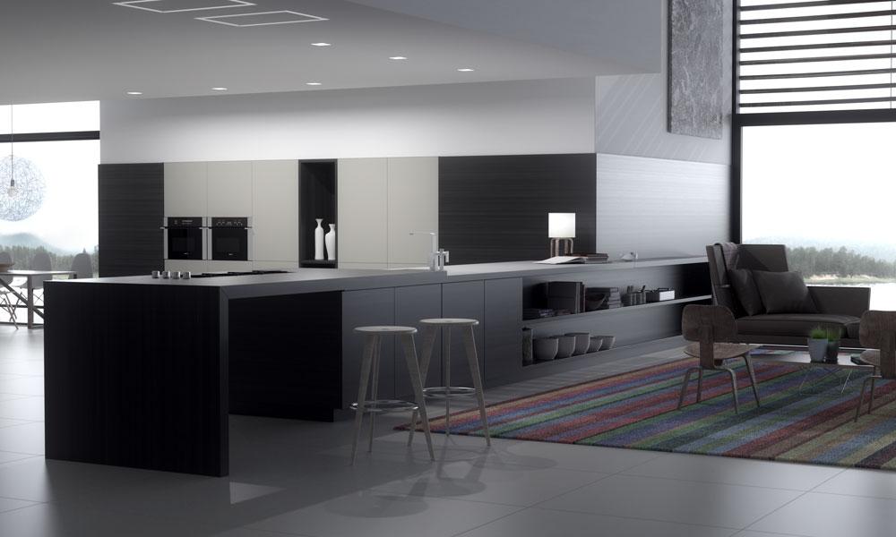 Renders interiores de casas de dise o contempor neo for Donde se estudia diseno de interiores