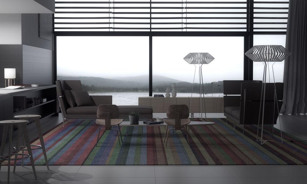 Renders interiores de casas de dise o contempor neo for Diseno de interiores facultades