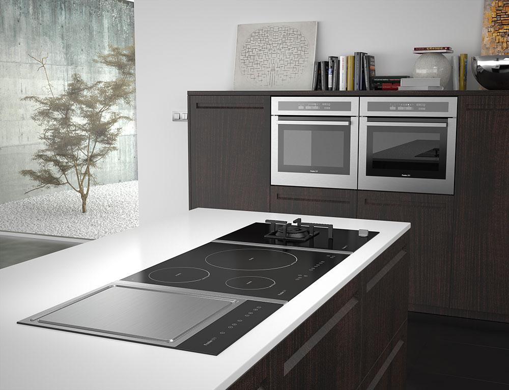 Infografías de cocinas para electrodomésticos