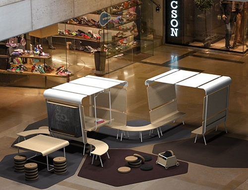Fotografía de muebles en 3D