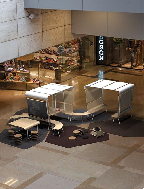 Fotografía de muebles en 3D de alta calidad fotorrealista