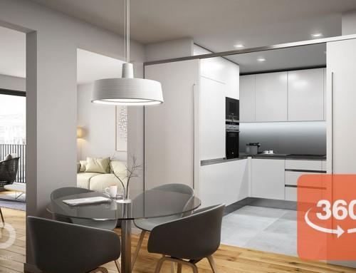 Visitas virtuales 3D de viviendas para la venta inmobiliaria