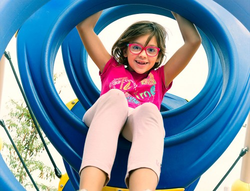 Estudio de fotografía publicitaria de parques infantiles