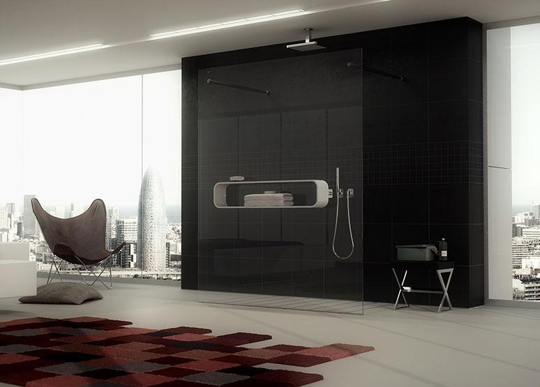 Renders fotorrealistas para publicidad de mamparas de ducha